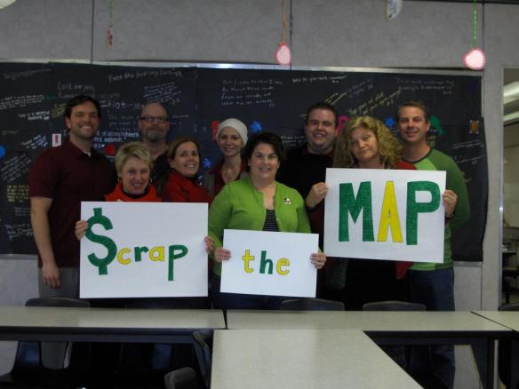 English teachers at Maria Carrillo High School in Santa Rosa, CA support you!