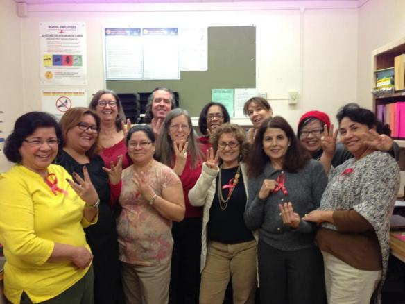 Rinaldi Adult Center teachers (UTLA)